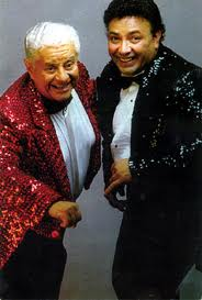 Eddie Torres and Tito Puente