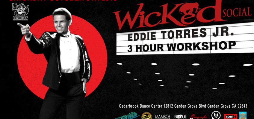 Eddie Torres Jr. – New York Style Salsa ON2  3-Hour Workshop and live performance.