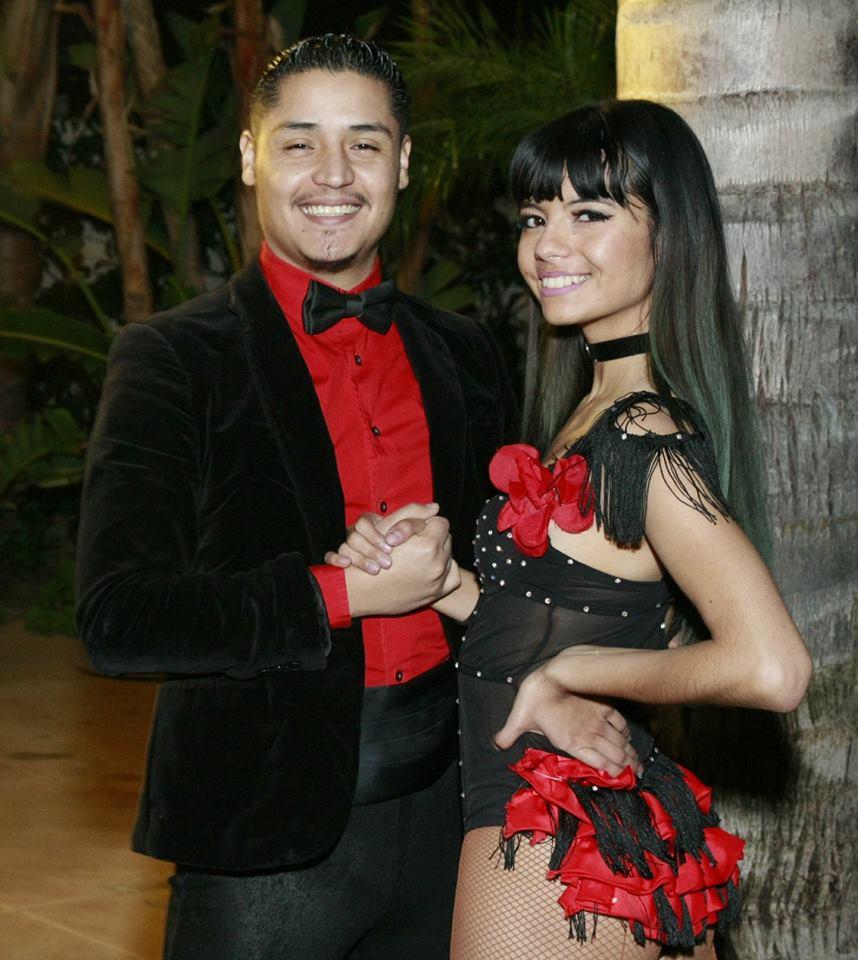 Directors of Bonito y Sabroso Dance Company - Abraham & Michelle