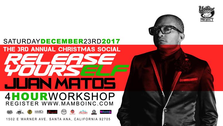 Juan Matos (Mambo) + Jorge Contreras (Bachata) – December 23, 2017