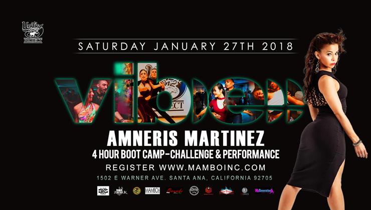 Amneris Martinez – 4-Hour Boot Camp, Challenge & Performance – January 27, 2018