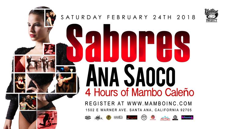 Ana Saoco – 4-Hour Workshop – February 24, 2018